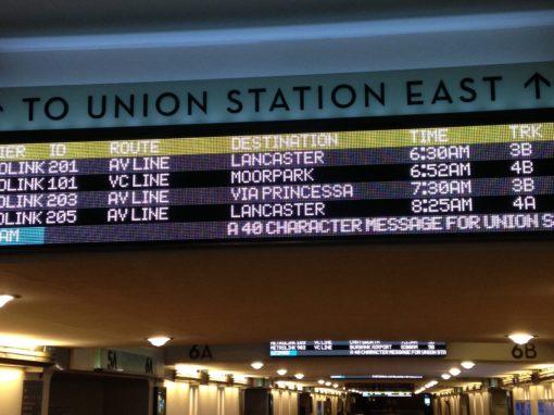Union Station Customer Information System (CIS) EIDANS™