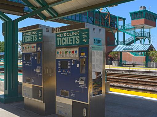 Ticket Vending Machine (TVM) Cellular Transport